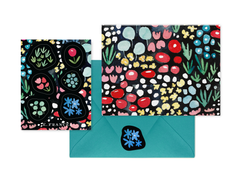 Meadow Notecard + Sticker Set