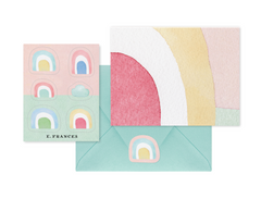 Dreamy Rainbow Notecard + Sticker Set