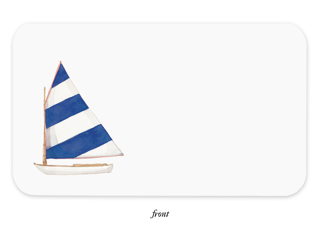 Sailboat Little Notes