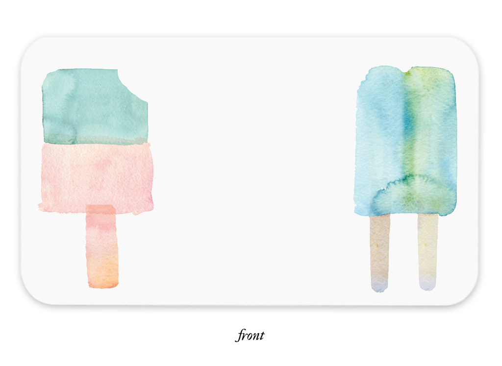 Popsicles Little Notes