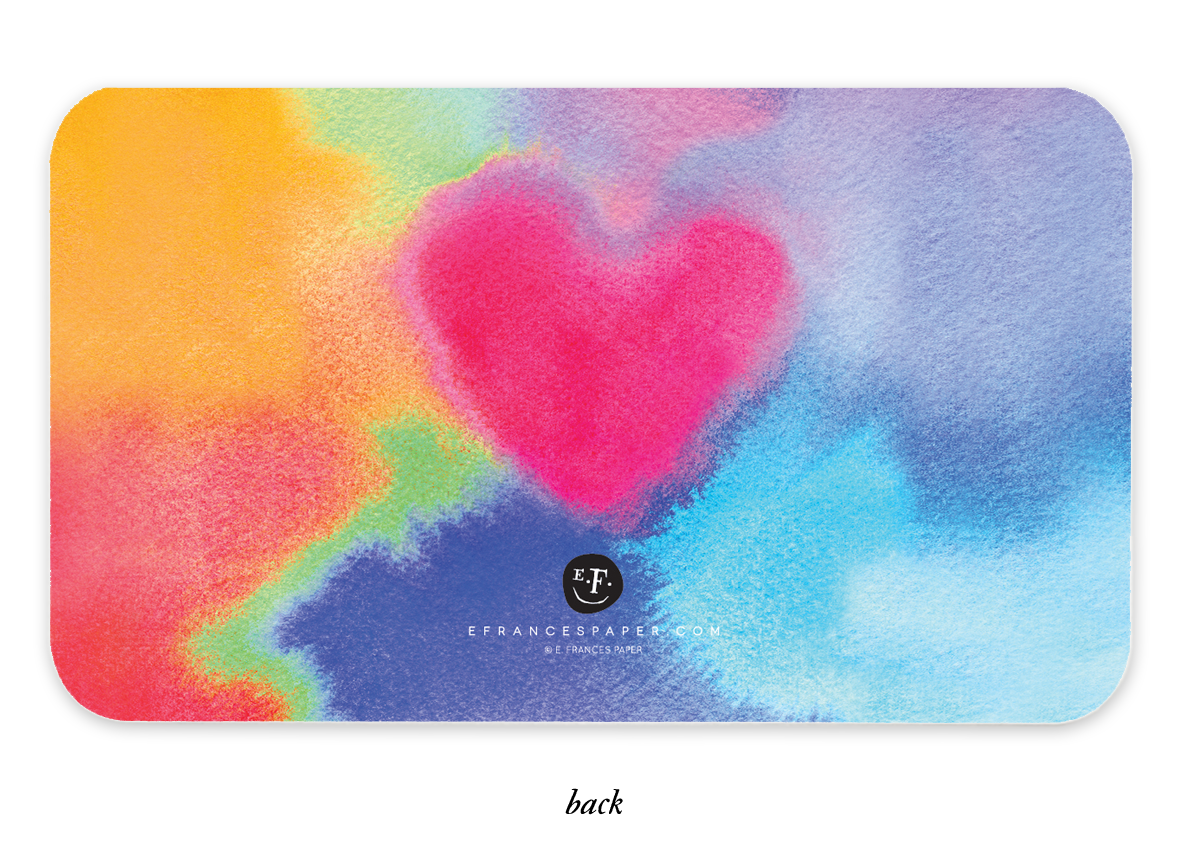 Tie Dye Love Little Notes®
