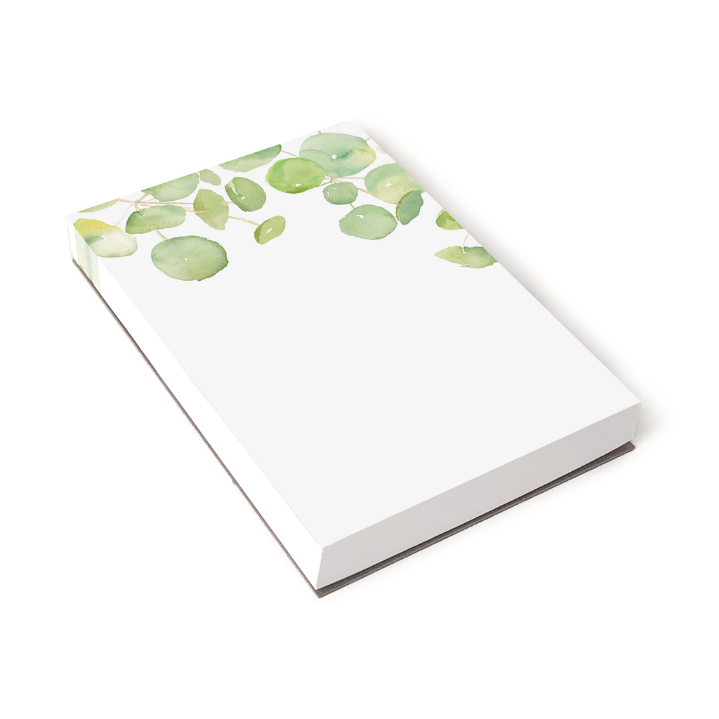 Spring Leaves Notepad