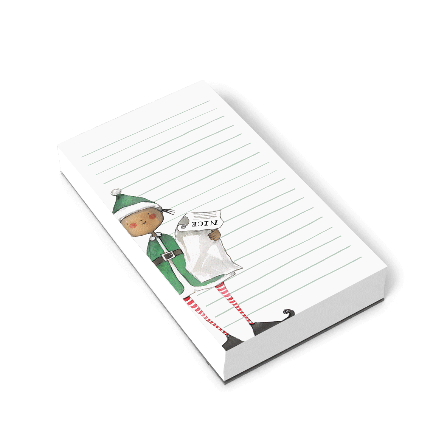 Naughty or Nice Notepad
