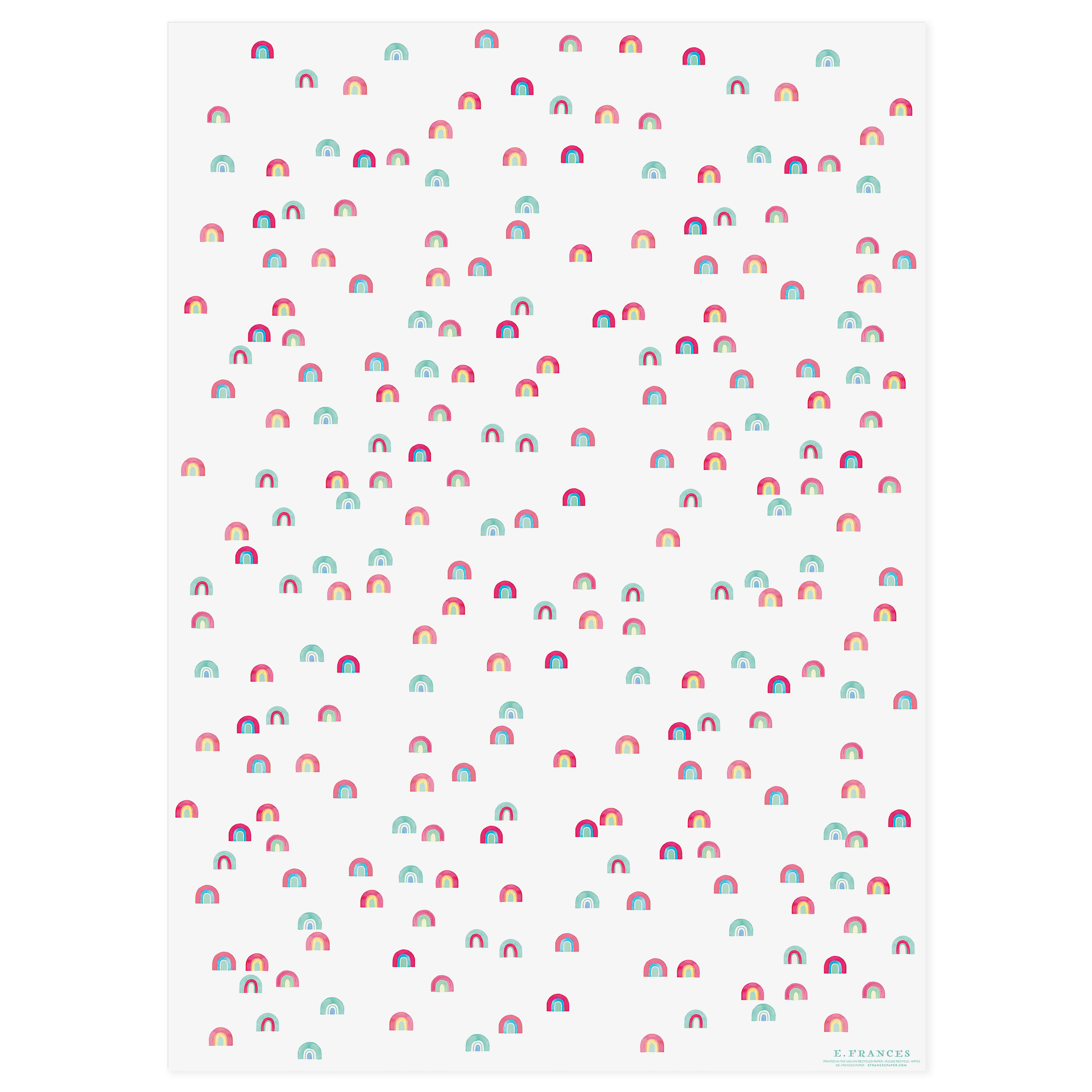 Raining Rainbows Gift Wrap