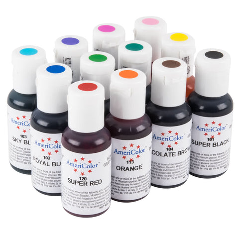 Soft Gel Paste Food Color by Americolor .75 oz.