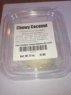Chewy Coconut Center