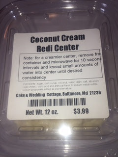 Coconut Cream Redi-Center