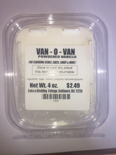 Van-O-Van Powdered Vanilla