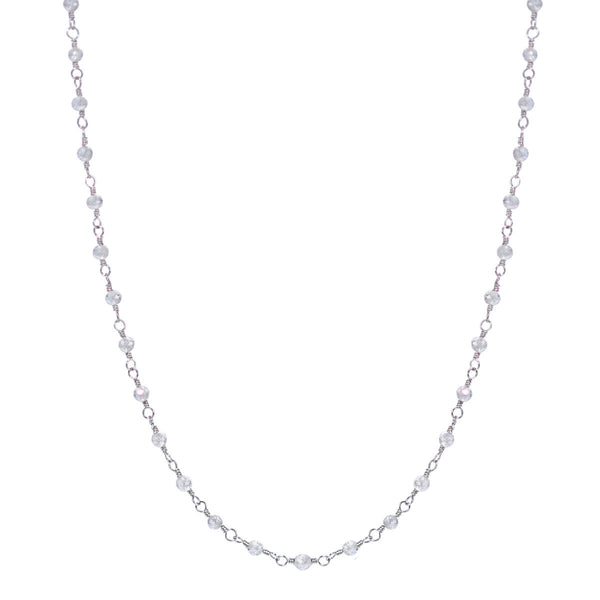Platinum White Diamond Chain