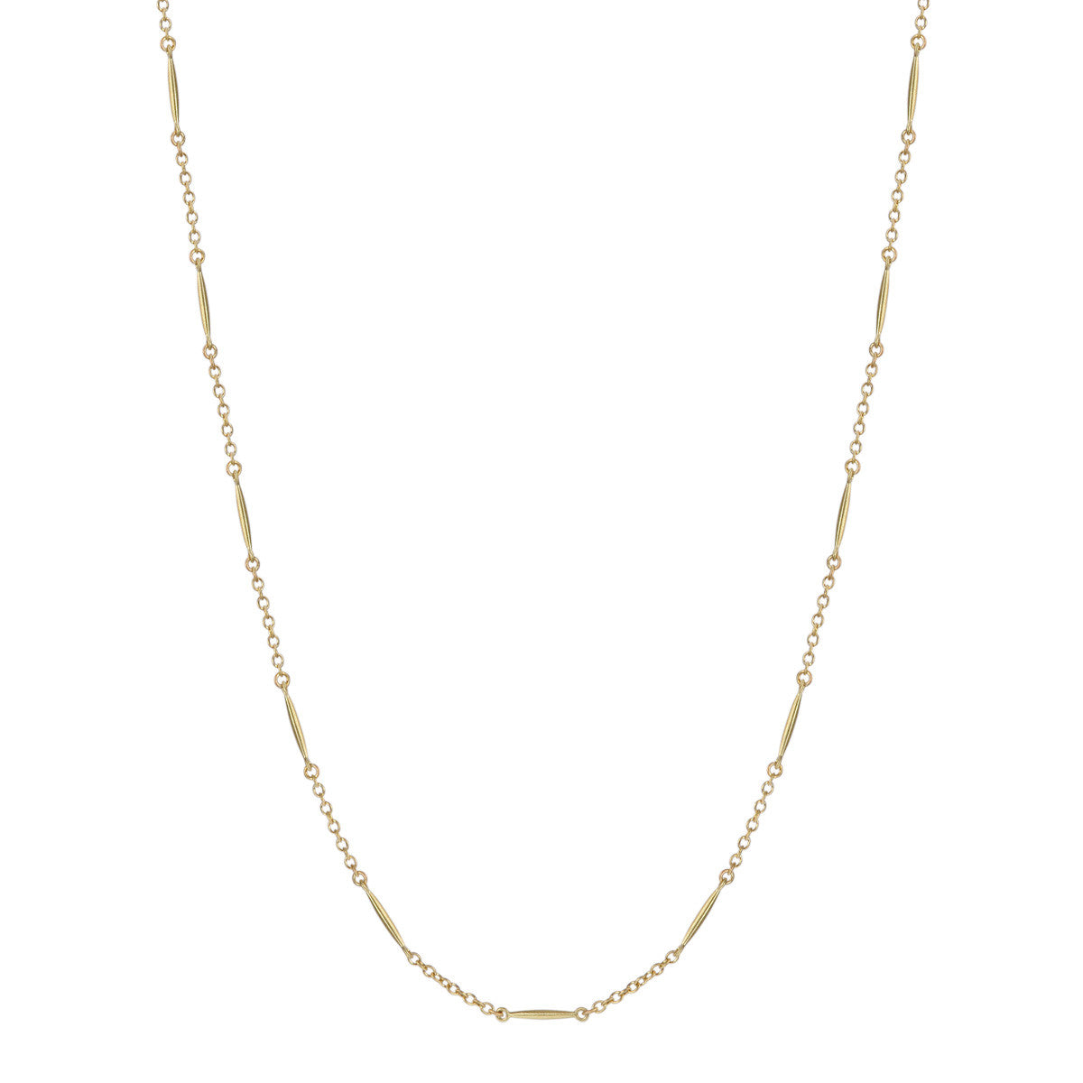 18K Gold All Gold Lure Necklace