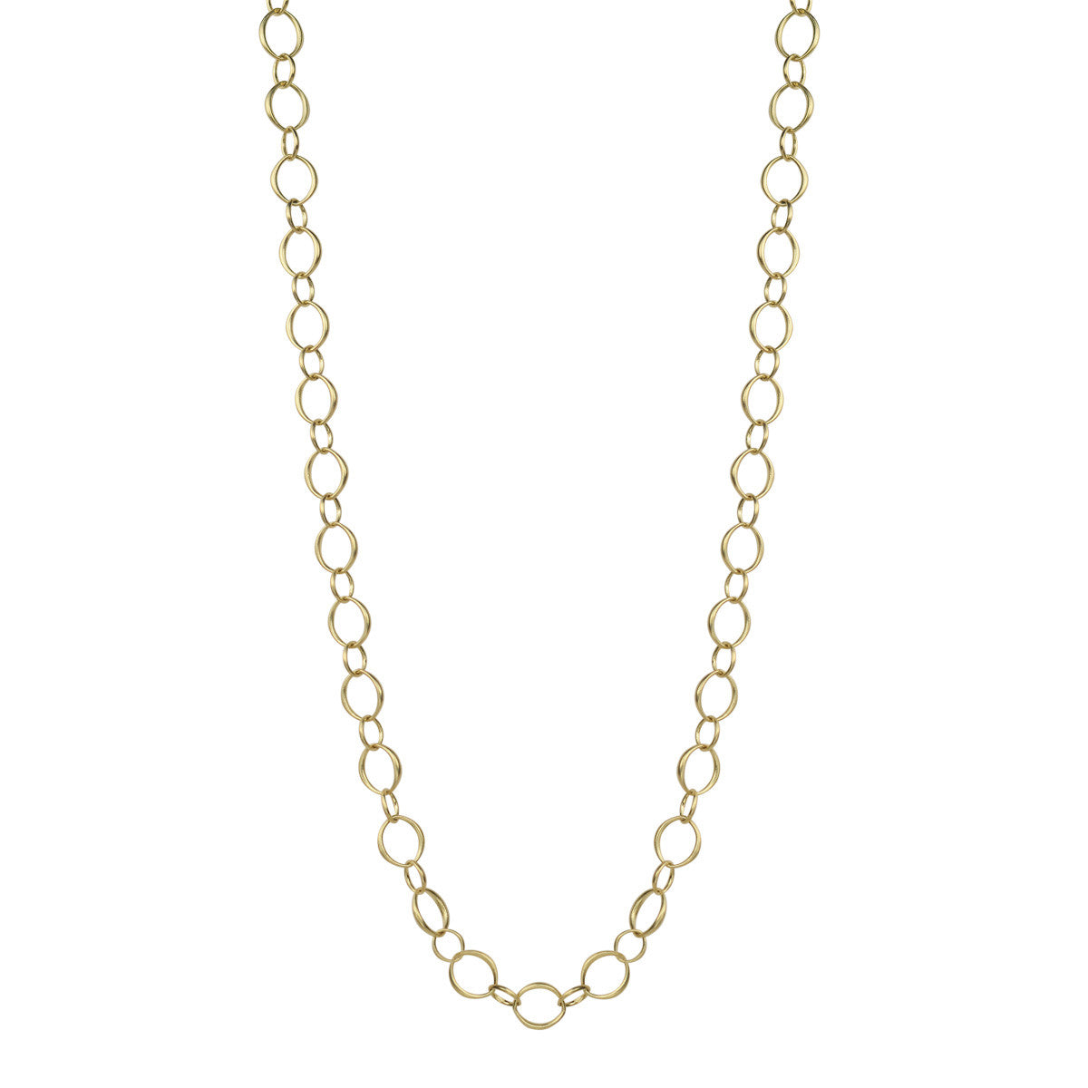 18K Gold Medium Fine O' Chain