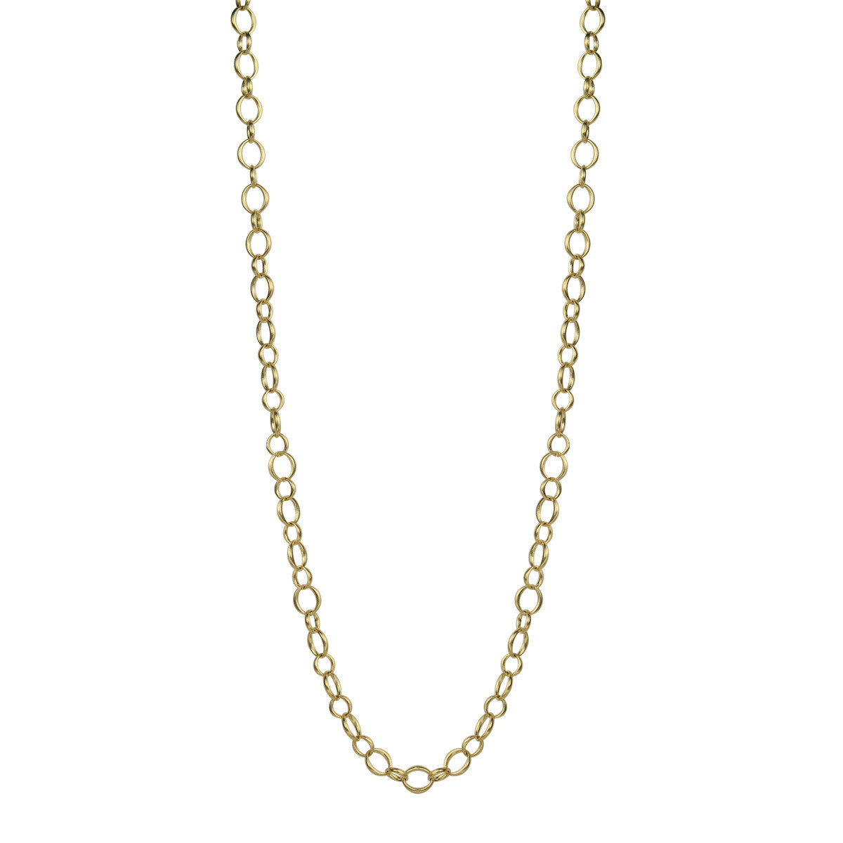 18K Gold Small Heavy O' Chain