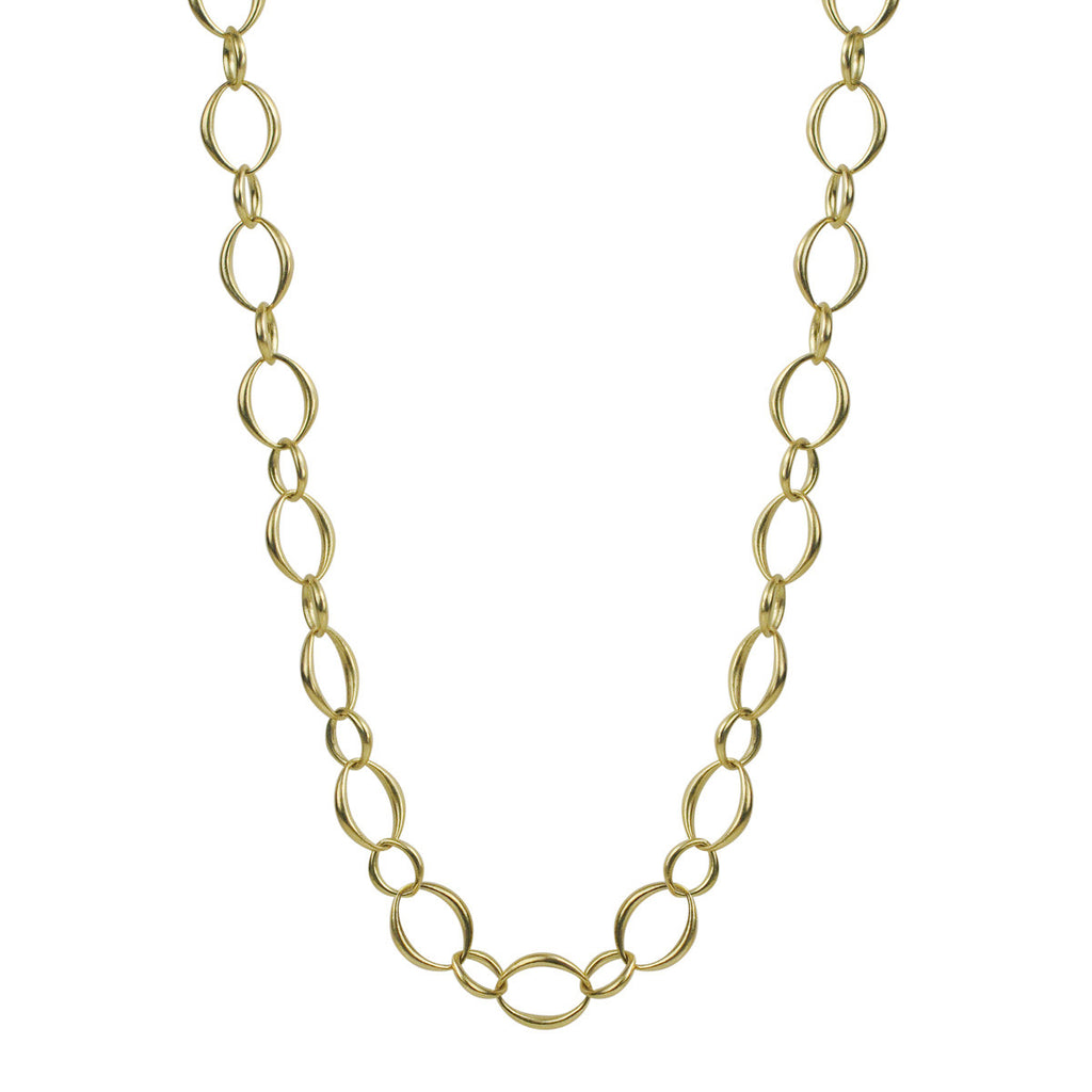 18K Gold Large Heavy O' Chain