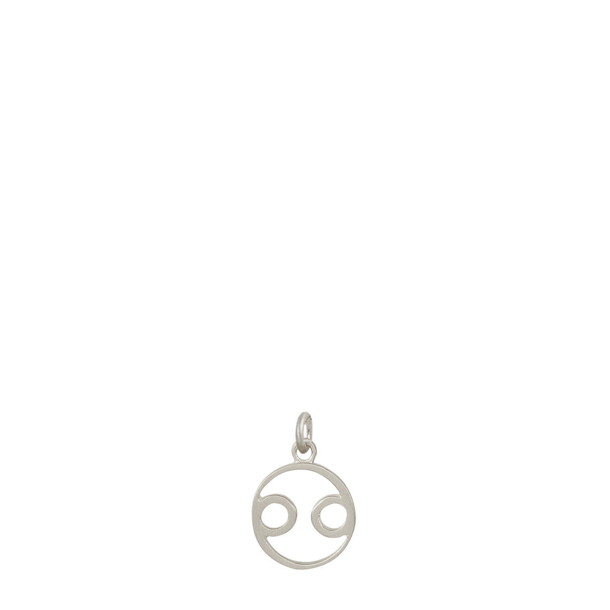 Sterling Silver Cancer Symbol Charm