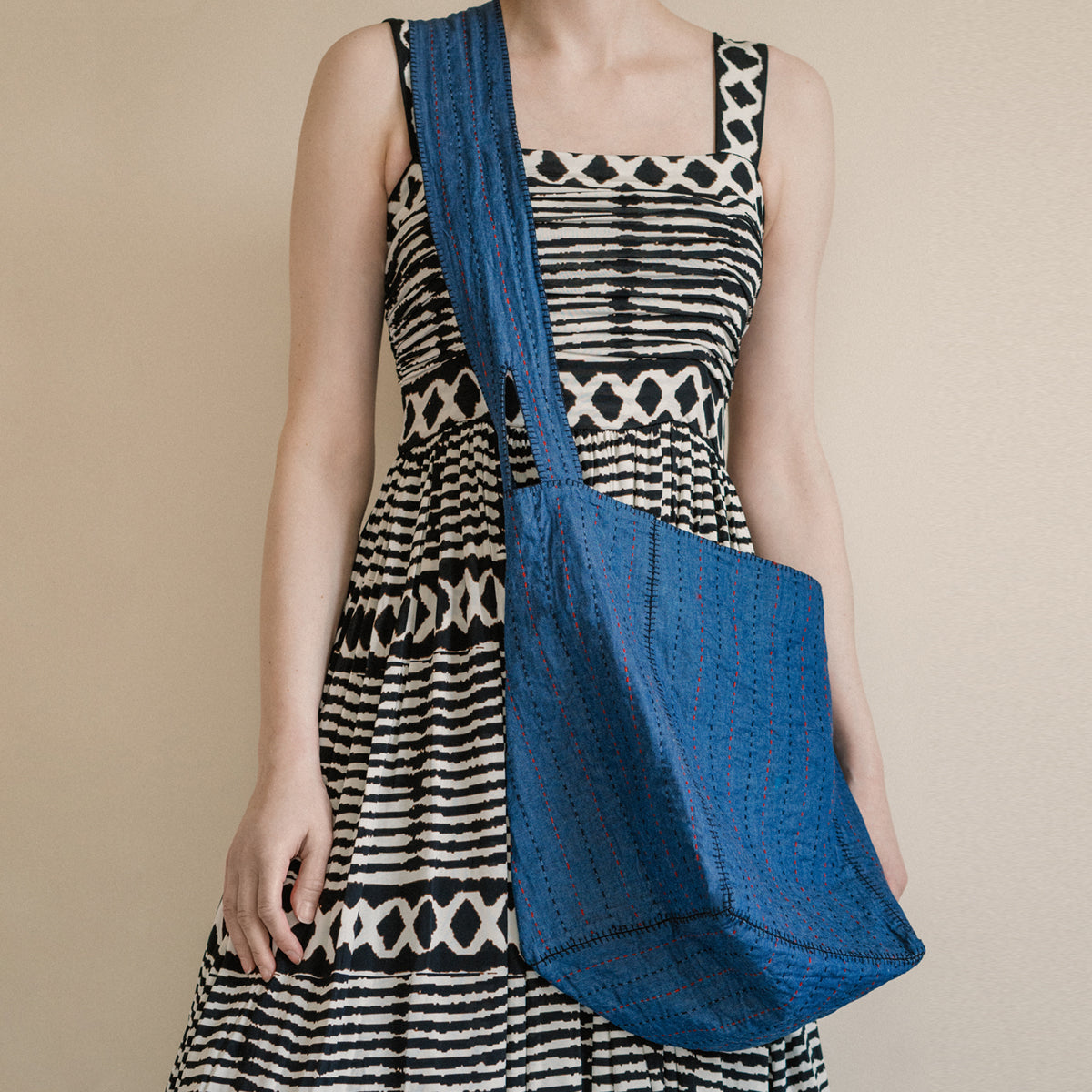 India Denim Summer Bag