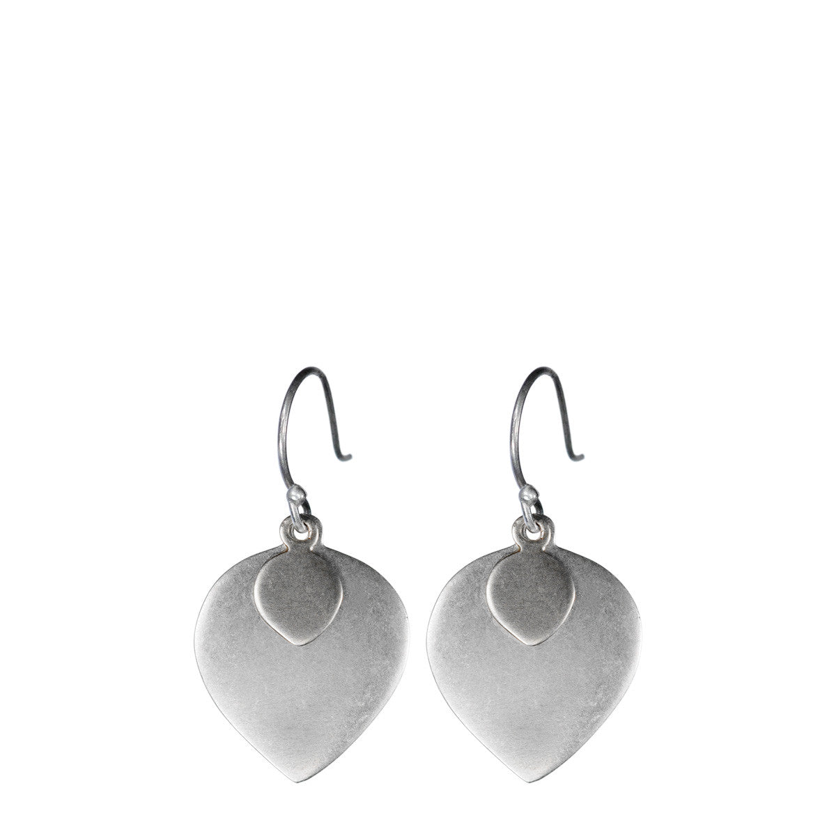 Sterling Silver Lotus Petal Earring