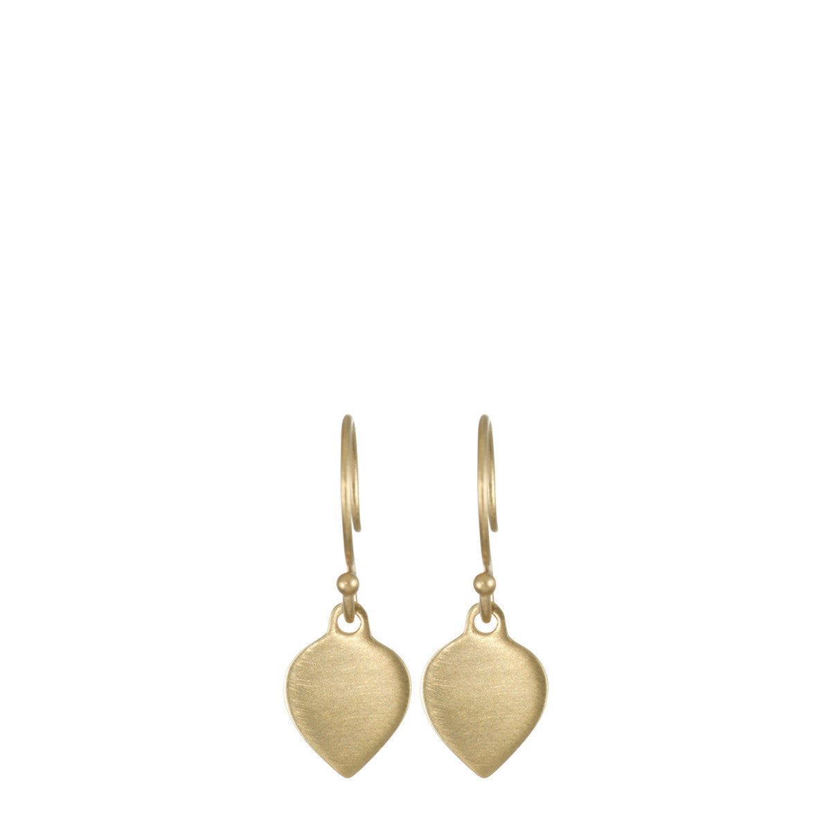 10K Gold Lotus Earrings