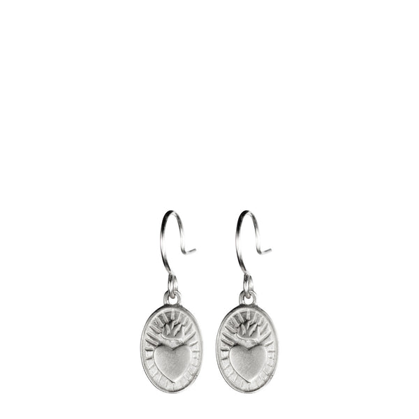 Sterling Silver Charity Trinket Earrings