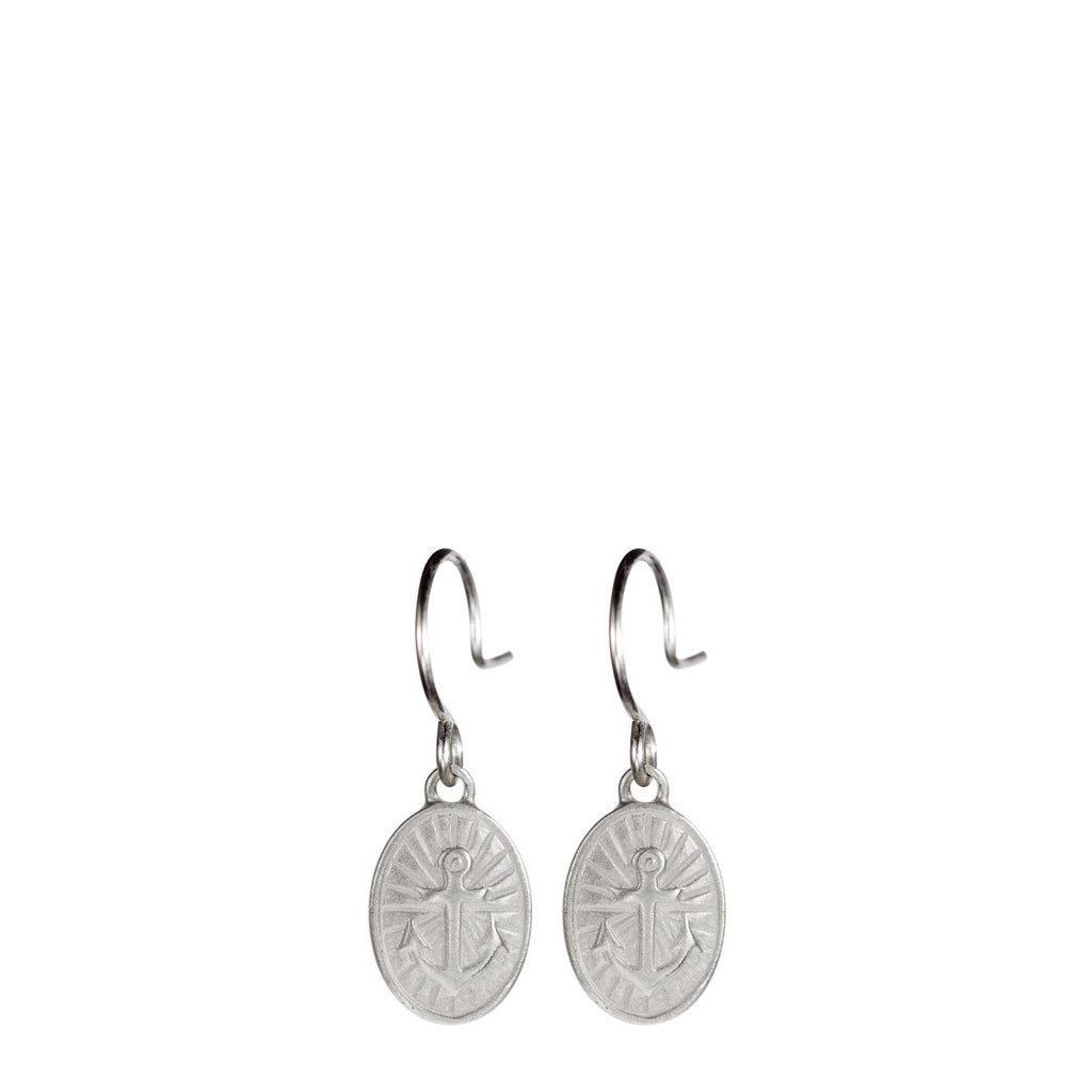 Sterling Silver Hope Trinket Earrings