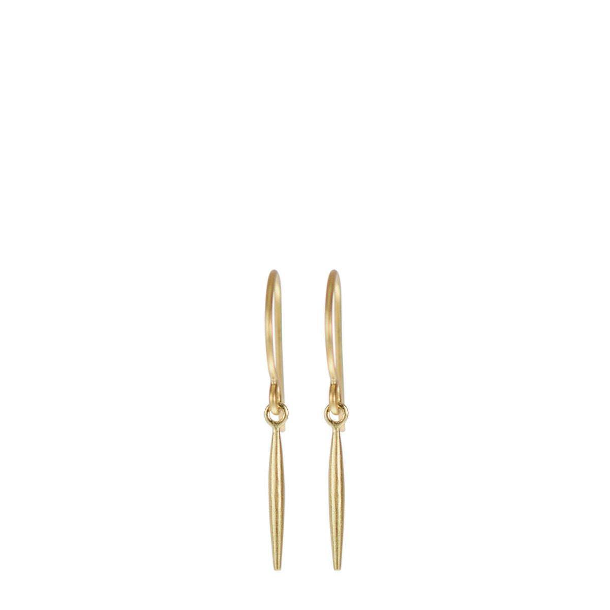 18K Gold Lure Earring