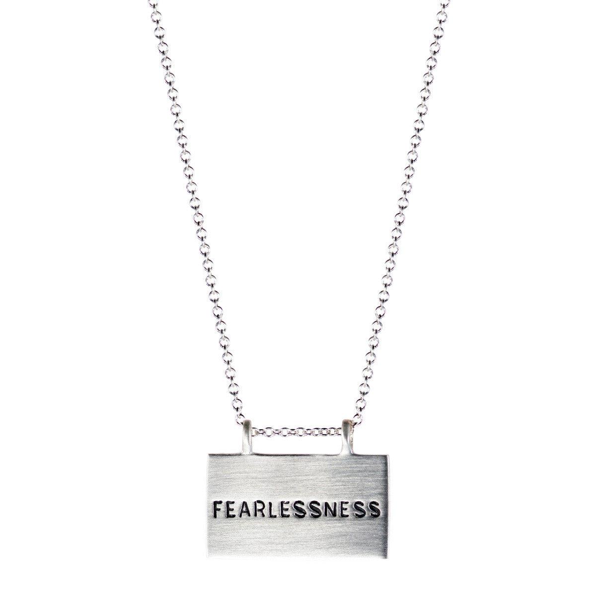 Sterling Silver Joyful Heart Foundation Fearlessness Pendant
