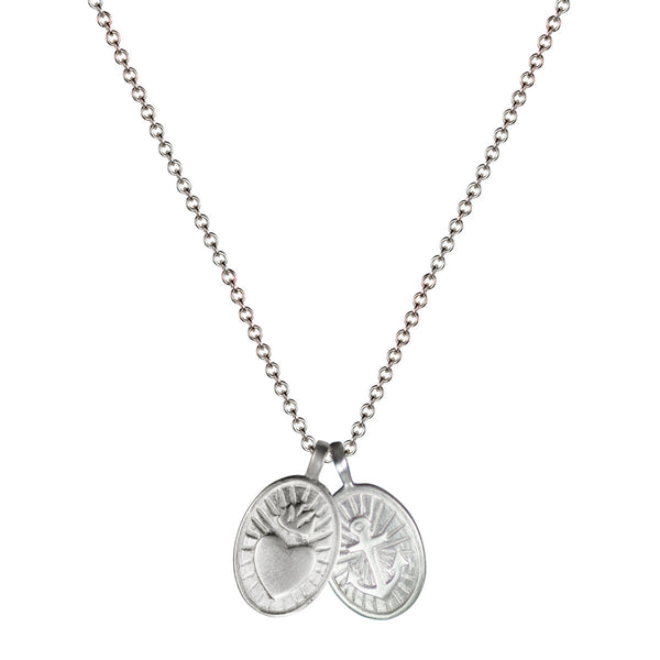 Sterling Silver Charity & Hope Trinket Pendant