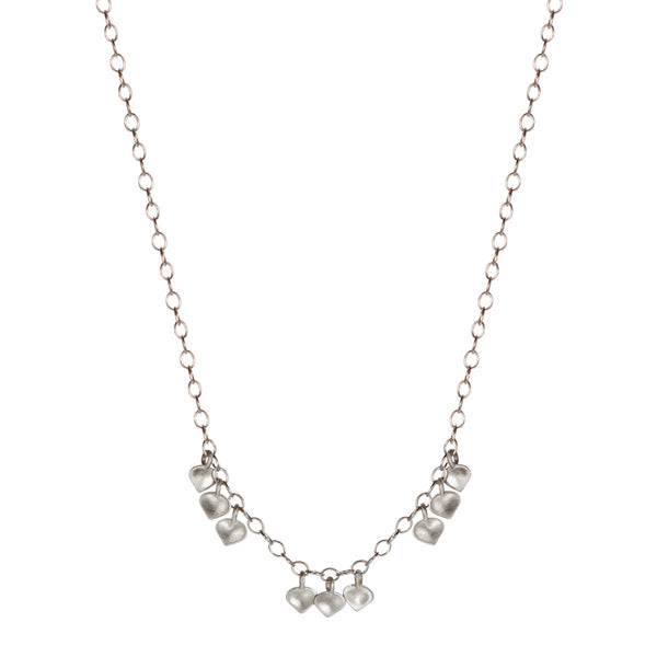 Sterling Silver 9 Lotus Petal Chain