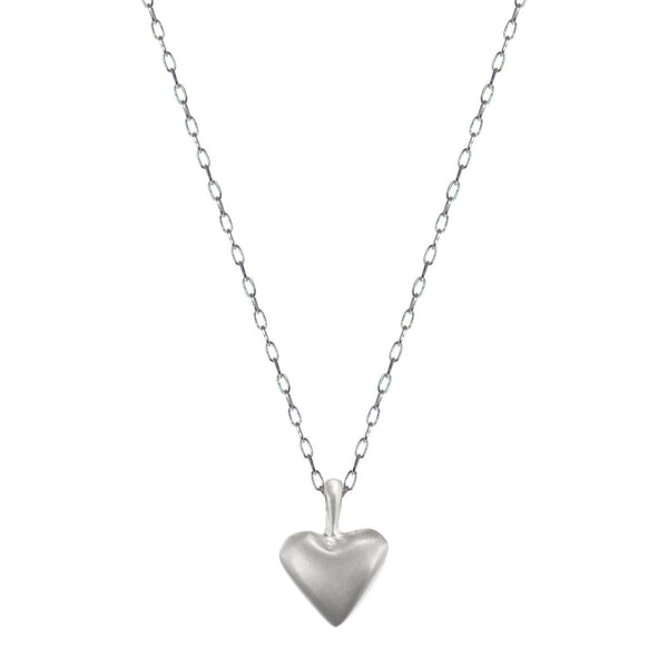 Sterling Silver Medium Heart Pendant