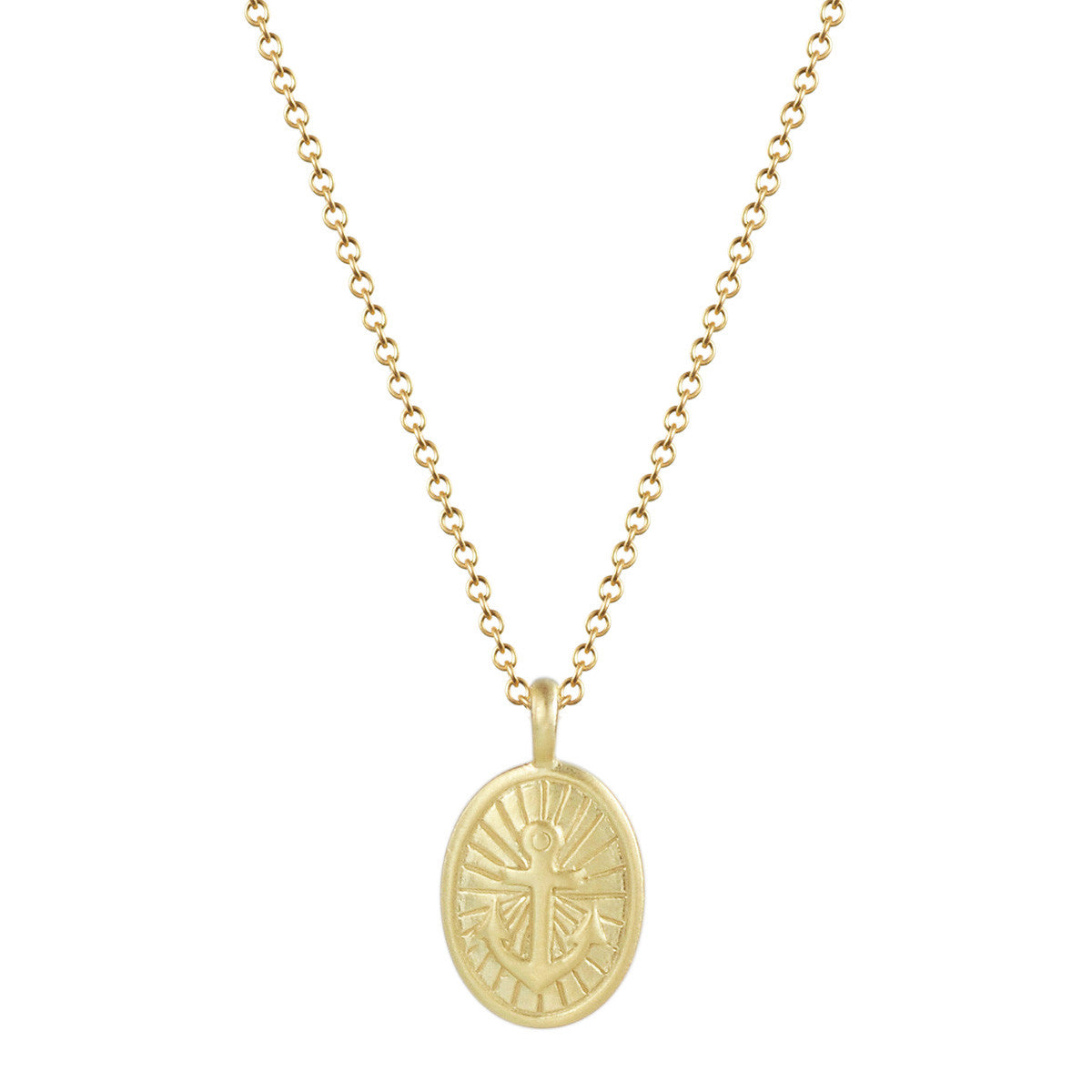 18K Gold Hope Trinket Pendant