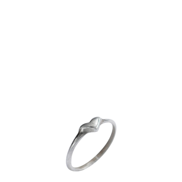Children's Sterling Silver Heart Ring
