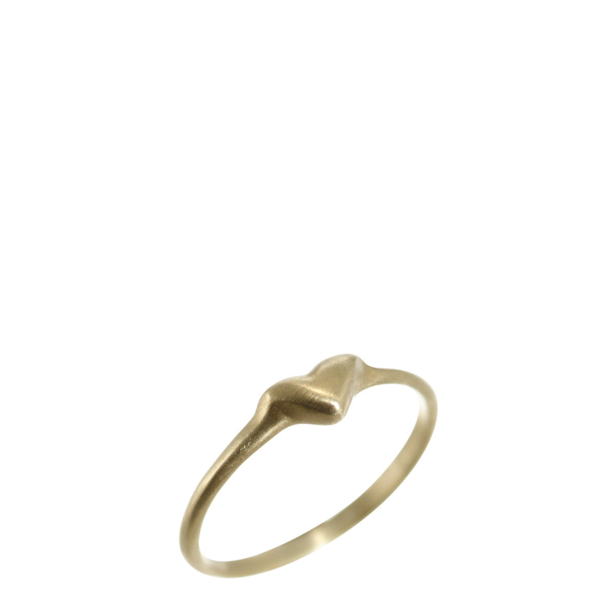 10K Gold Heart Ring