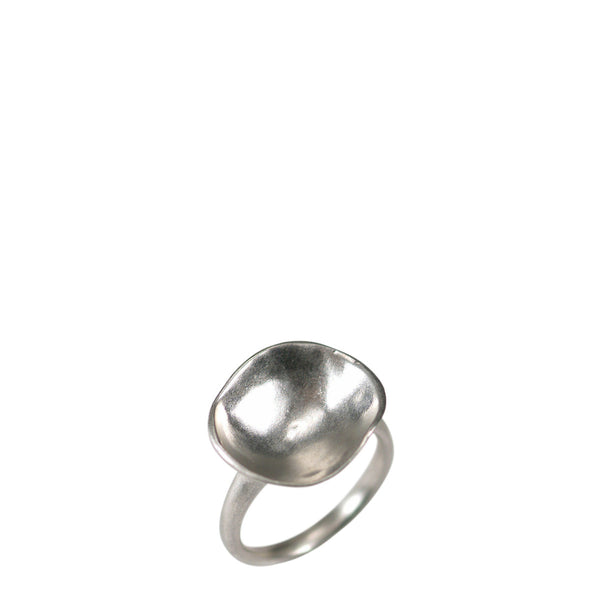 Sterling Silver Shell Dish Ring