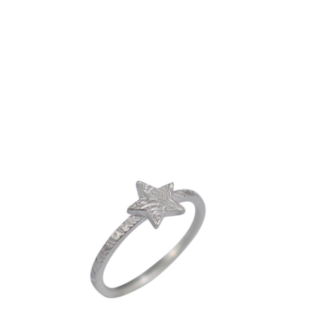 Sterling Silver Paisley Star Ring