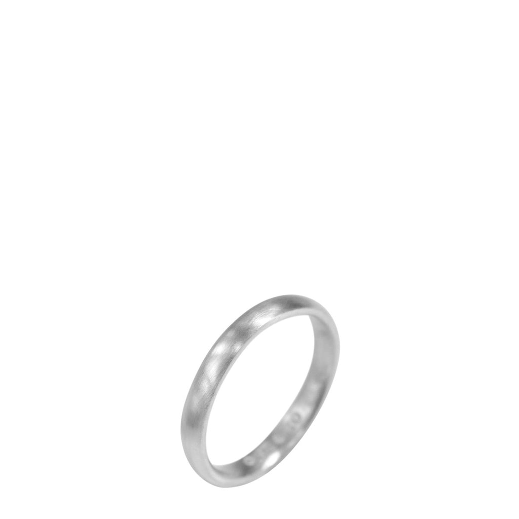 Platinum Women's 3mm Wedding Band