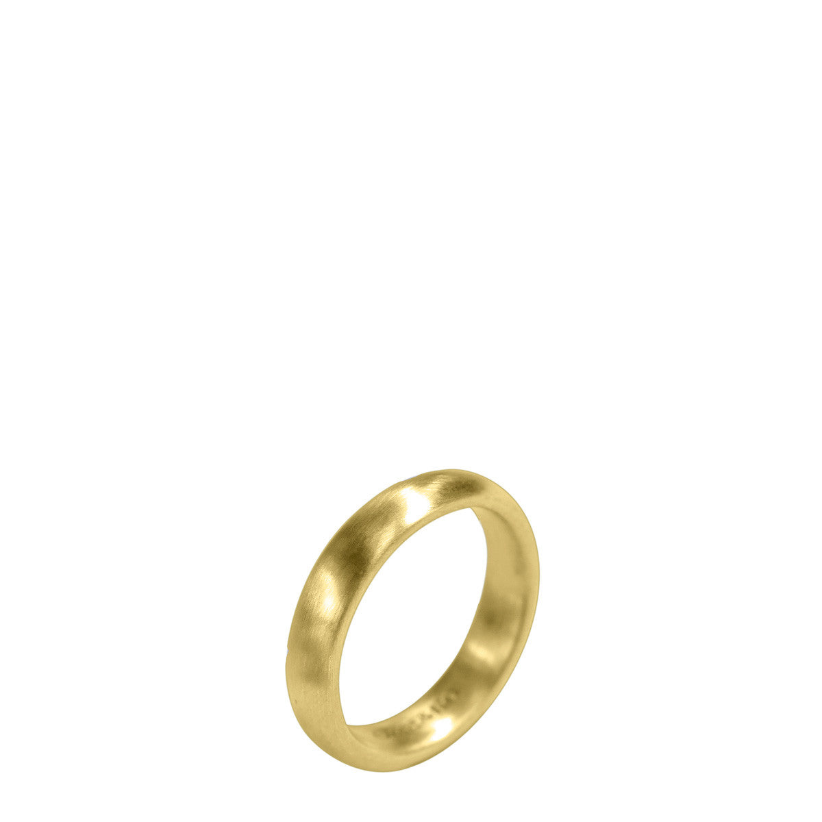 Men's 18K Gold 5mm Wedding Band