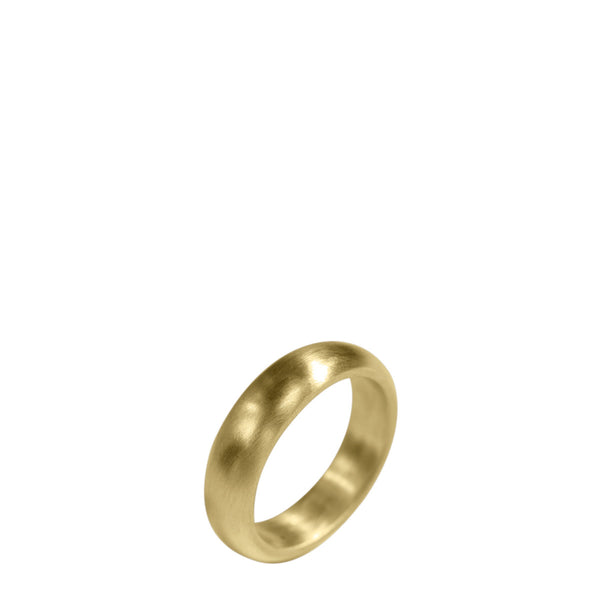 18K Gold Women's 6mm Wedding Band