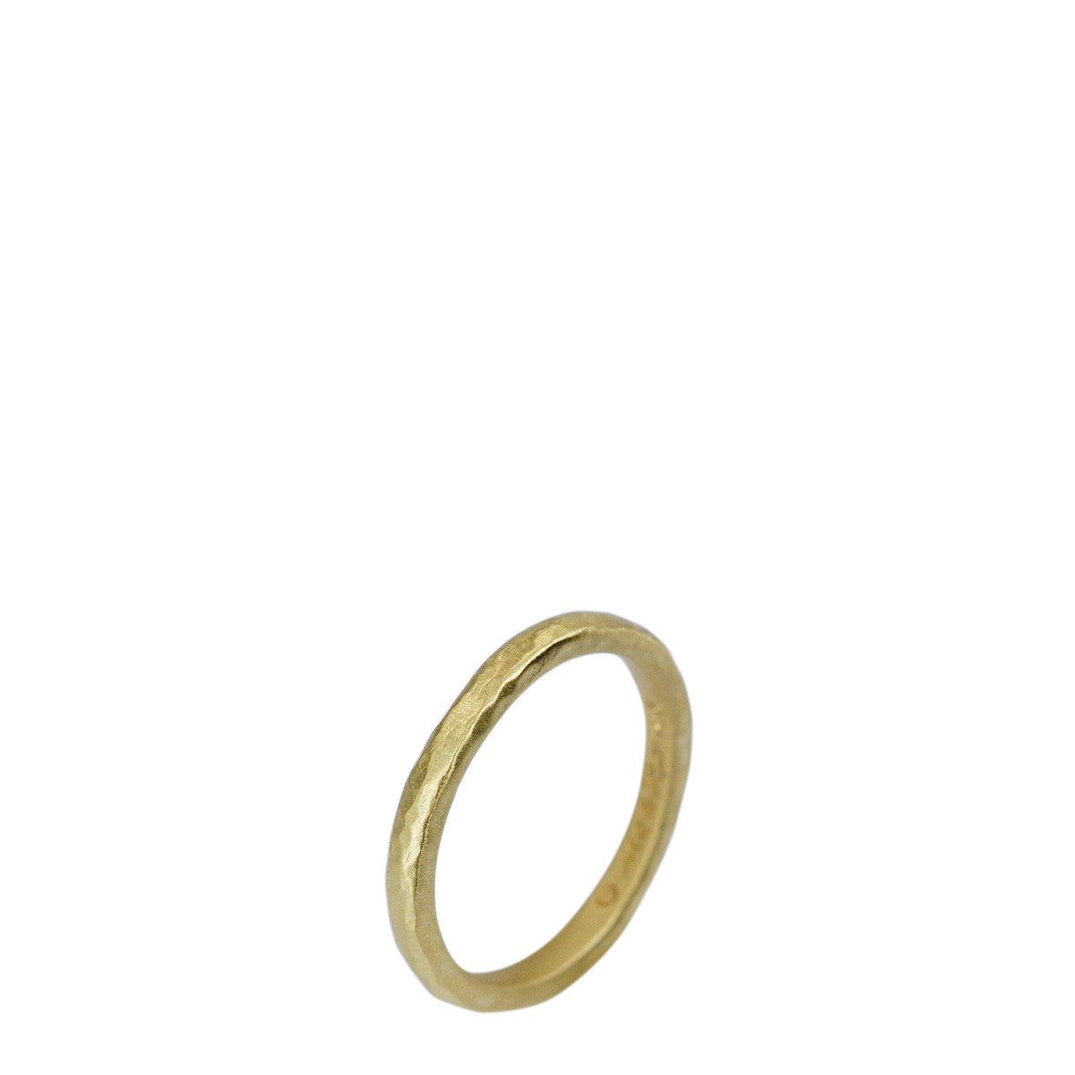 18K Gold 2.5mm Round Band