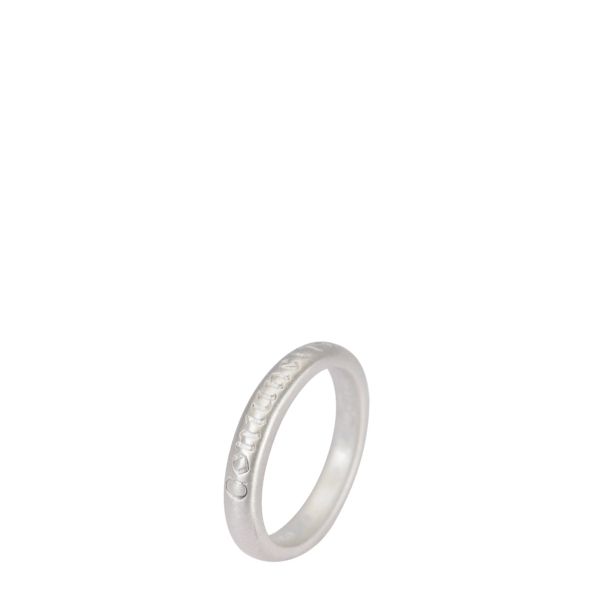 Sterling Silver Latin Strength Ring