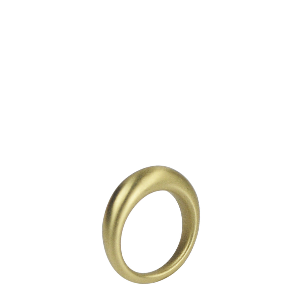 18K Gold Heavy Tibetan Ring
