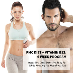 PMC Weight Loss Program + B12 Shots: 6 Week Program