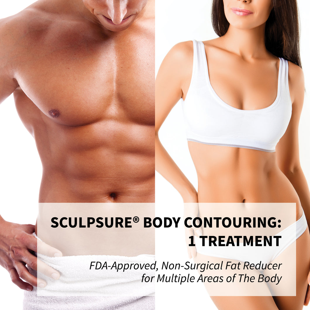 SculpSure® Body Contouring - FDA Approved  Non-Surgical Stubborn Fat Reducer 1x Treatment