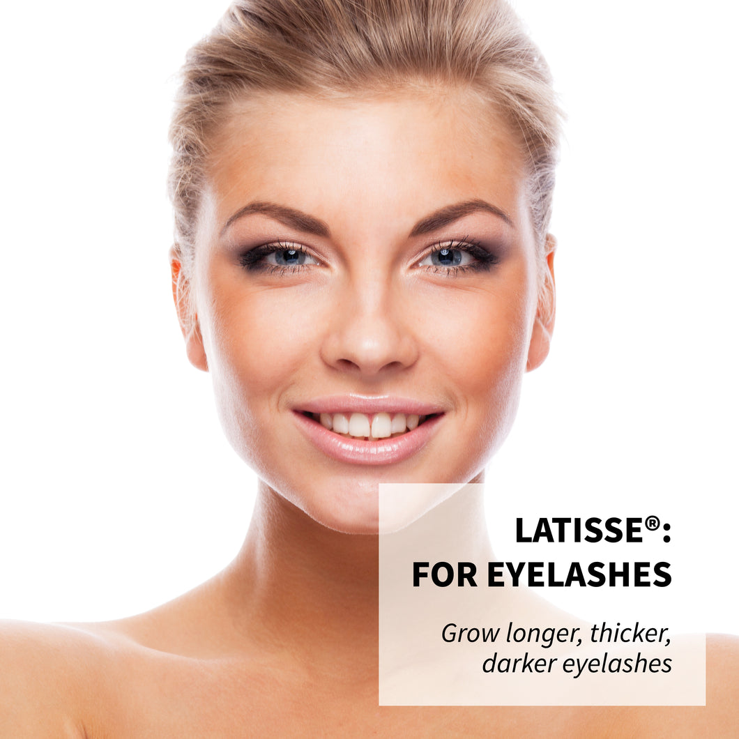 Latisse®: 2 x 5ml - Grow longer, thicker, darker lashes