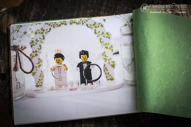 lego theme wedding album