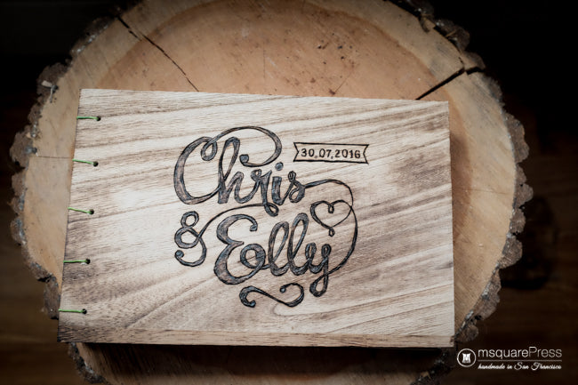 Wedding Logo Guest Book