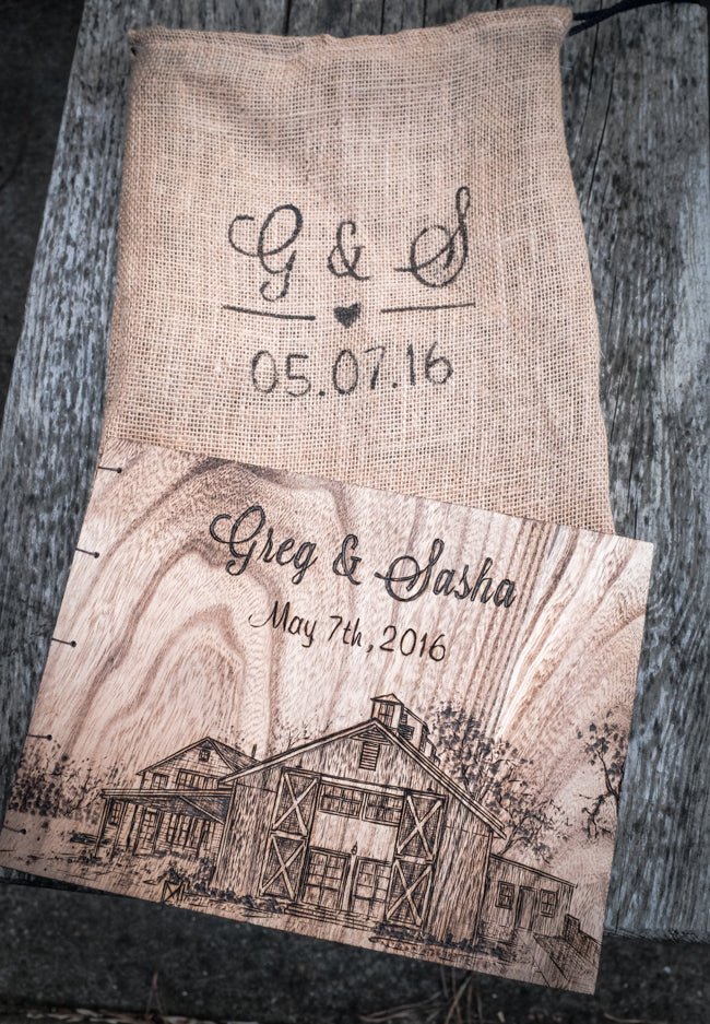 Pippin Hill Farm Wedding Guestbook