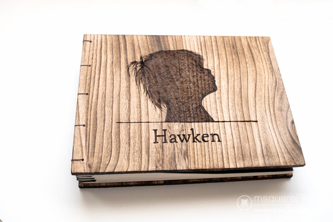 Personalized Wooden Baby Book