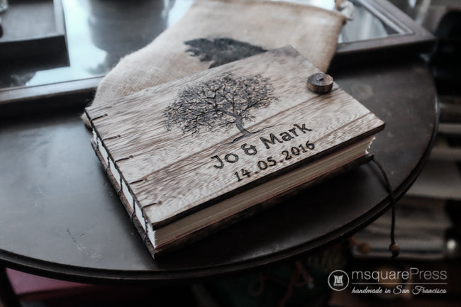 Rustic Tree Wedding Guest Book