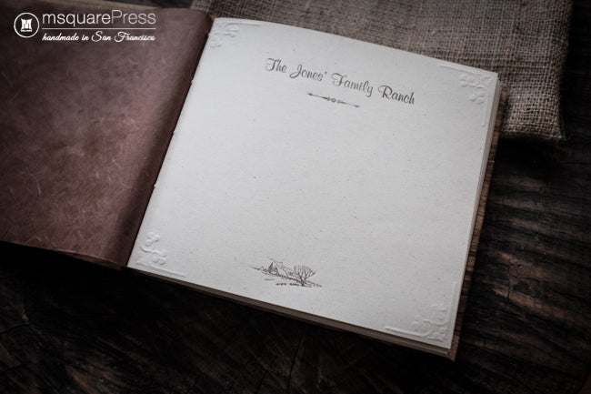 The Jones' Family Ranch Guestbook
