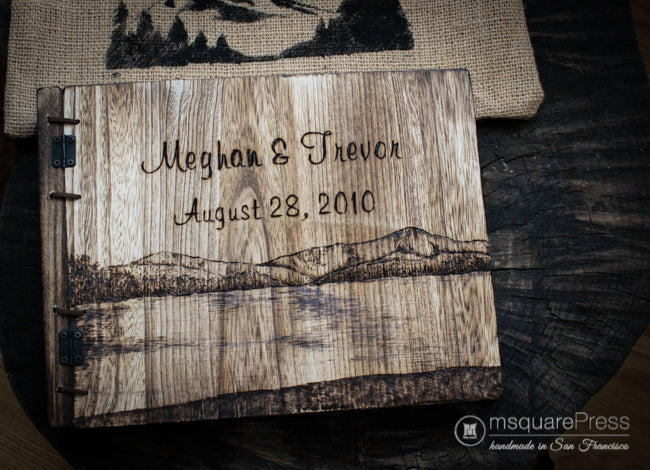 personalized 5th anniversary wood gift