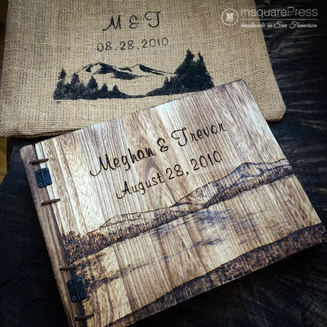 Personalized Anniversary Wood Gift